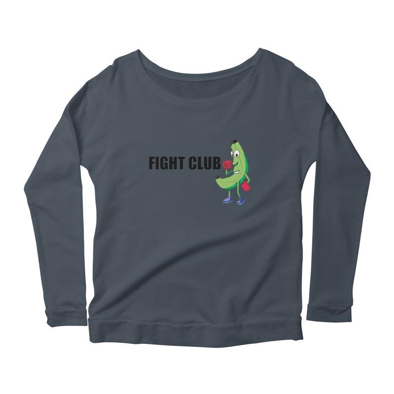 Fruit Fight Women's Scoop Neck Longsleeve T-Shirt by Castaneda Designs