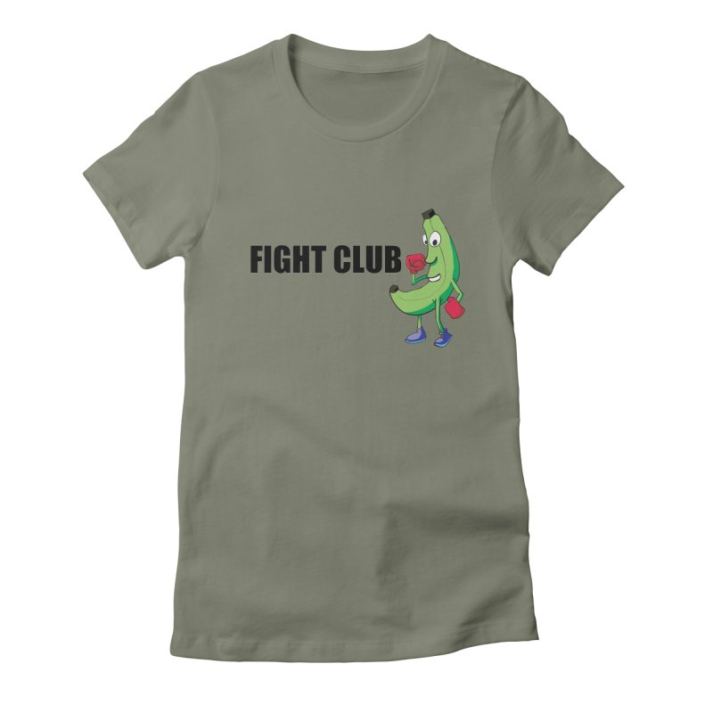 Fruit Fight Women's Fitted T-Shirt by Castaneda Designs