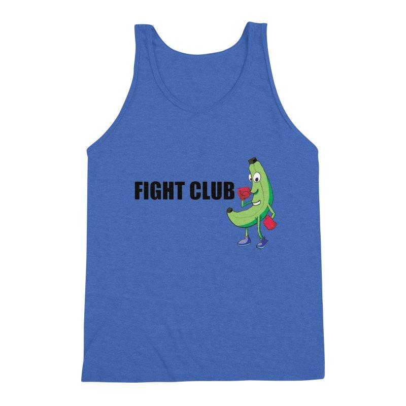 Fruit Fight Men's Triblend Tank by Castaneda Designs