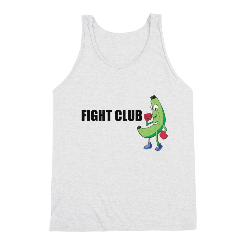 Fruit Fight Men's Triblend Tank by Castaneda Designs
