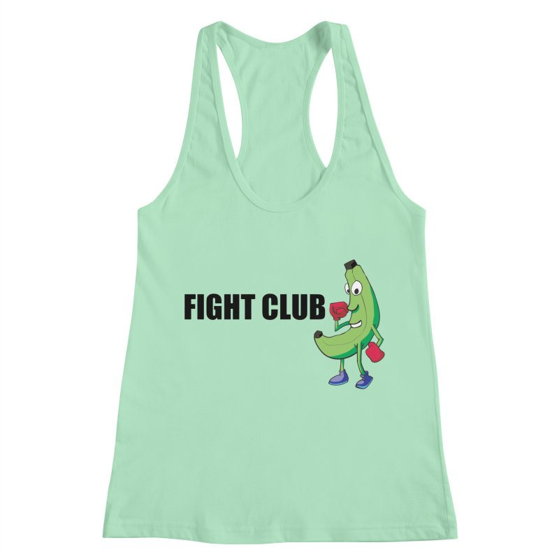 Fruit Fight Women's Racerback Tank by Castaneda Designs