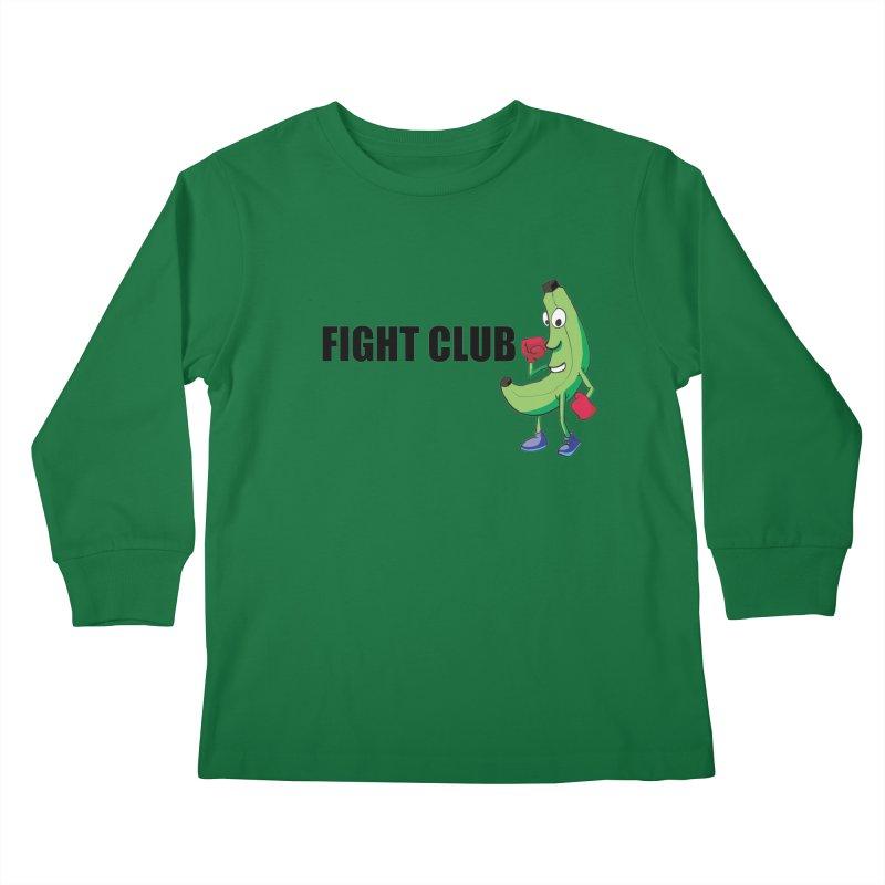 Fruit Fight Kids Longsleeve T-Shirt by Castaneda Designs