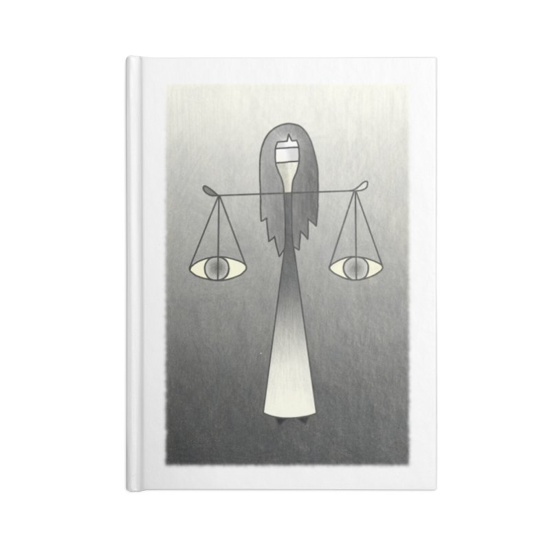 Justice Accessories Notebook by Bad Kerning by castinbronze