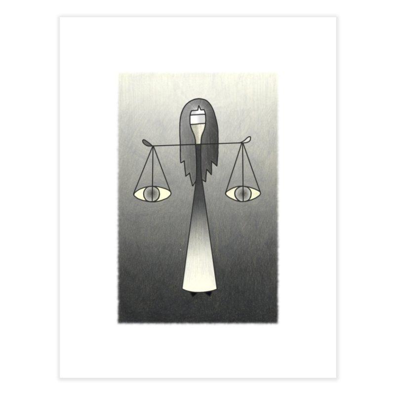 Justice Home Fine Art Print by castinbronze design