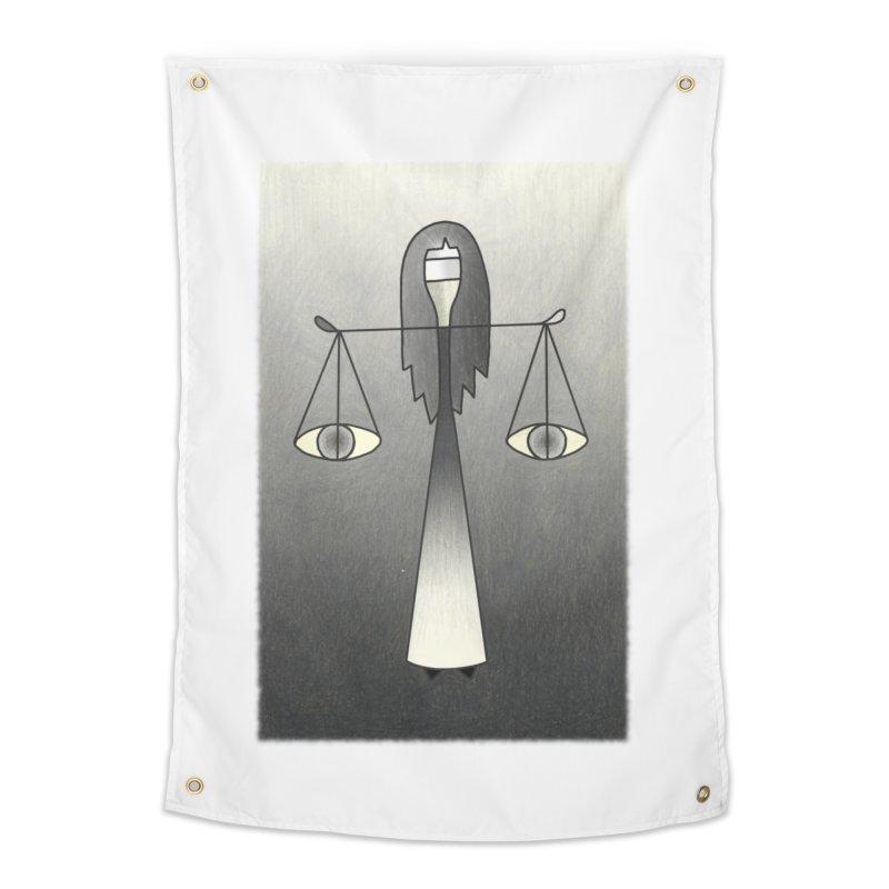 Justice Home Tapestry by castinbronze design