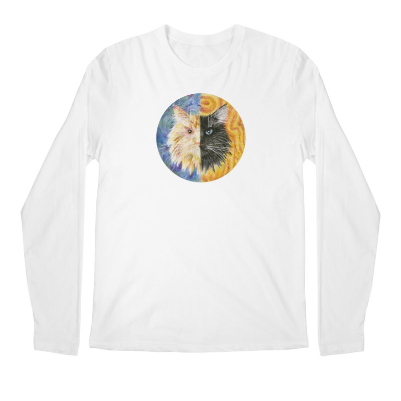 Gemeowni Men's Regular Longsleeve T-Shirt by Bad Kerning by castinbronze