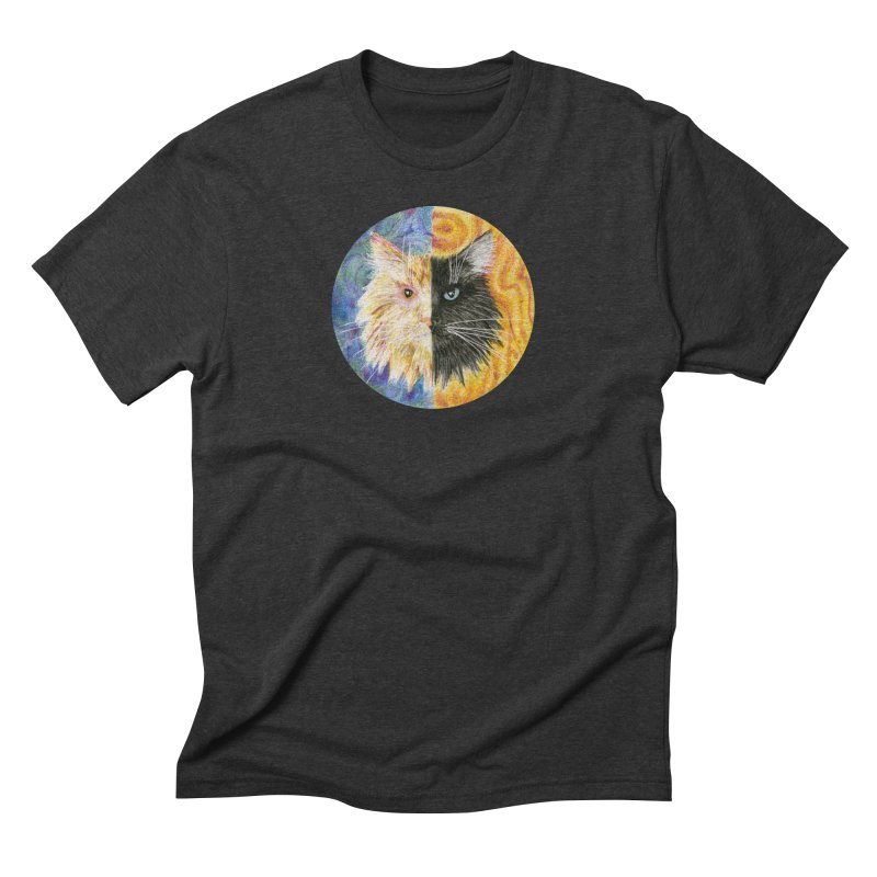 Gemeowni Men's Triblend T-Shirt by Bad Kerning by castinbronze