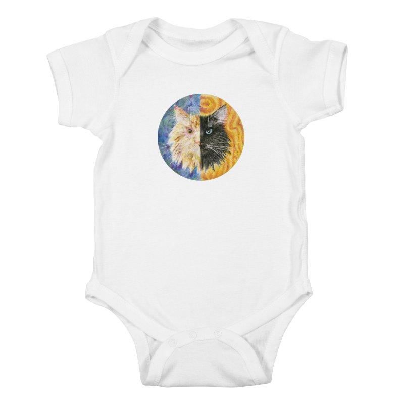 Gemeowni Kids Baby Bodysuit by Bad Kerning by castinbronze