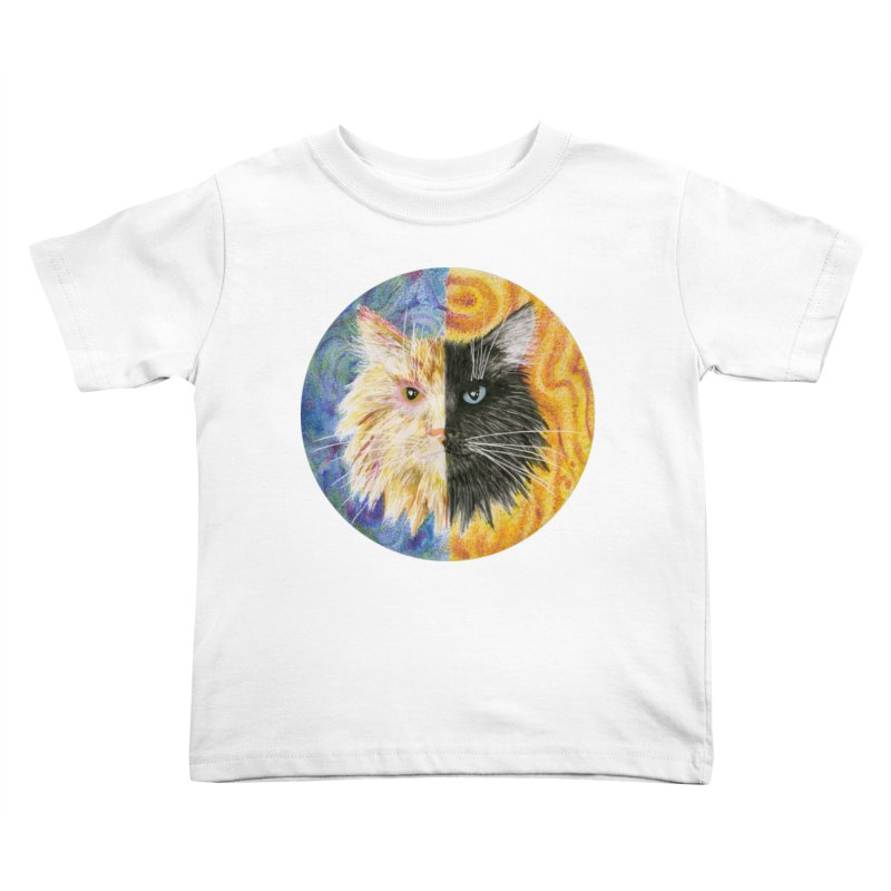 Gemeowni Kids Toddler T-Shirt by Bad Kerning by castinbronze