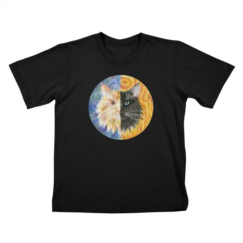 Gemeowni Kids T-Shirt by Bad Kerning by castinbronze