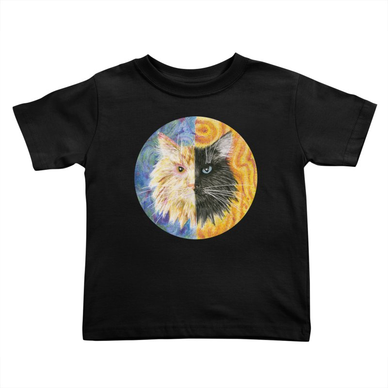 Gemeowni Kids Toddler T-Shirt by castinbronze design