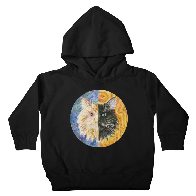 Gemeowni Kids Toddler Pullover Hoody by castinbronze design