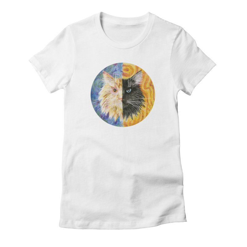 Gemeowni Women's Fitted T-Shirt by castinbronze design
