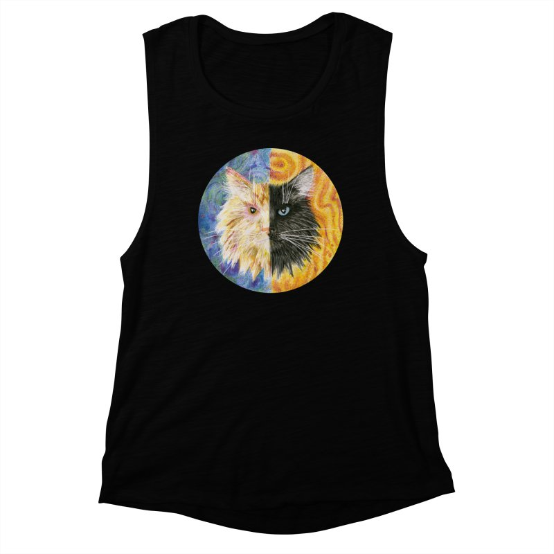 Gemeowni Women's Muscle Tank by Bad Kerning by castinbronze