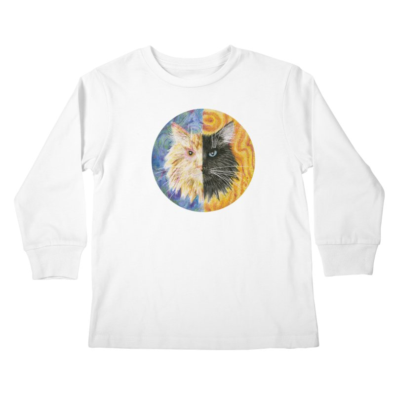 Gemeowni Kids Longsleeve T-Shirt by castinbronze design
