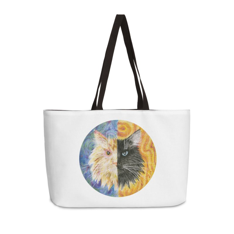 Gemeowni Accessories Weekender Bag Bag by Bad Kerning by castinbronze