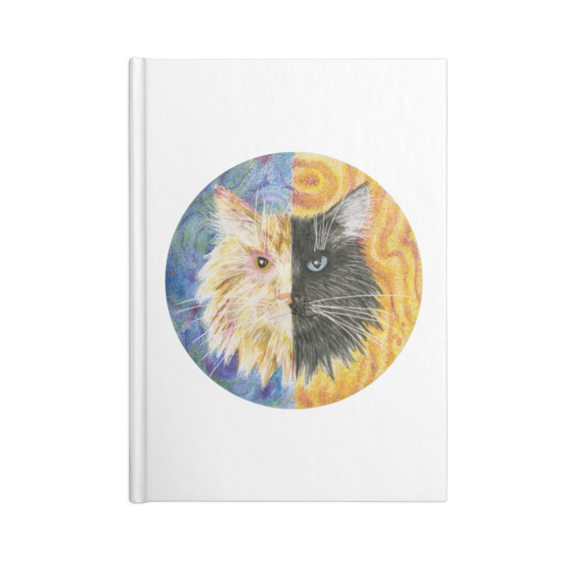 Gemeowni Accessories Lined Journal Notebook by Bad Kerning by castinbronze