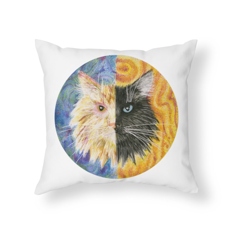 Gemeowni Home Throw Pillow by castinbronze design