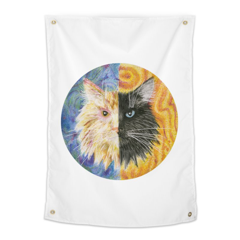 Gemeowni Home Tapestry by castinbronze design