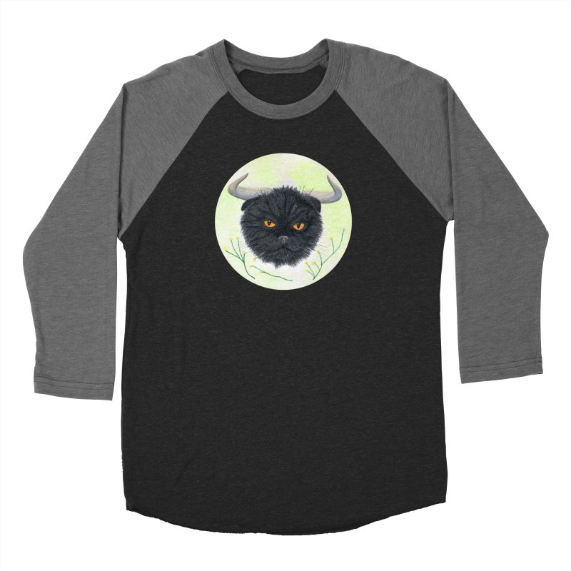 Tommus Women's Baseball Triblend T-Shirt by Bad Kerning by castinbronze