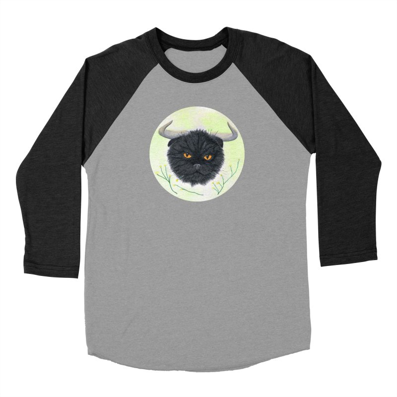 Tommus Men's Baseball Triblend T-Shirt by Bad Kerning by castinbronze