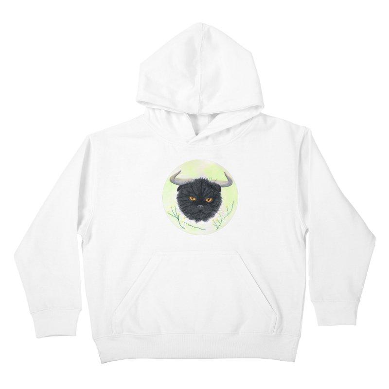Tommus Kids Pullover Hoody by castinbronze design