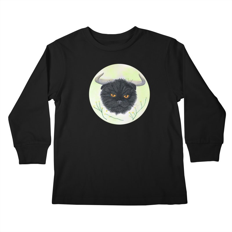 Tommus Kids Longsleeve T-Shirt by castinbronze design