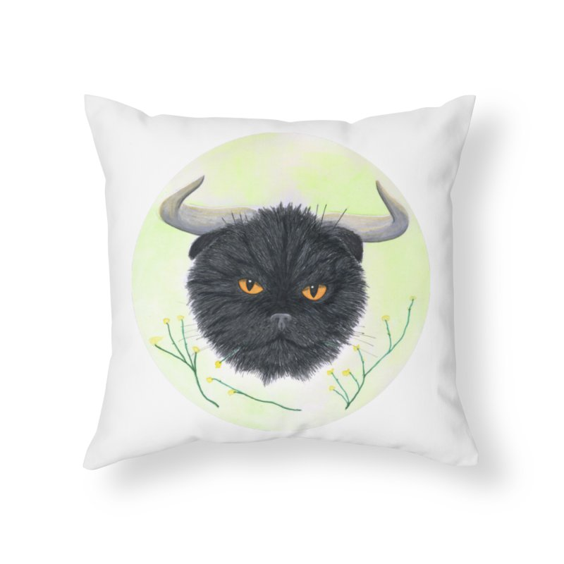 Tommus Home Throw Pillow by castinbronze design