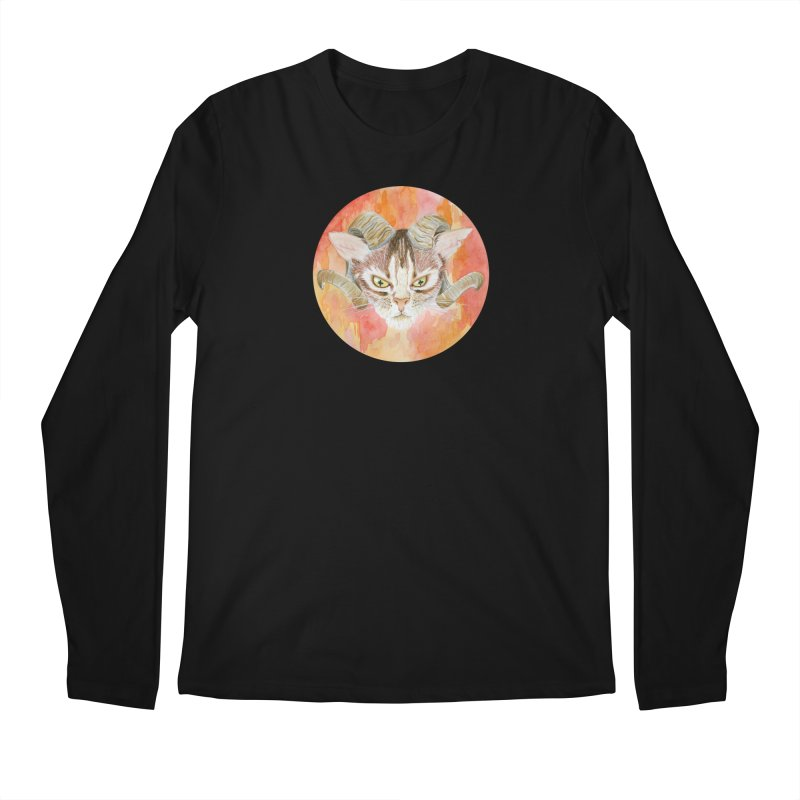 Scaries Men's Regular Longsleeve T-Shirt by Bad Kerning by castinbronze