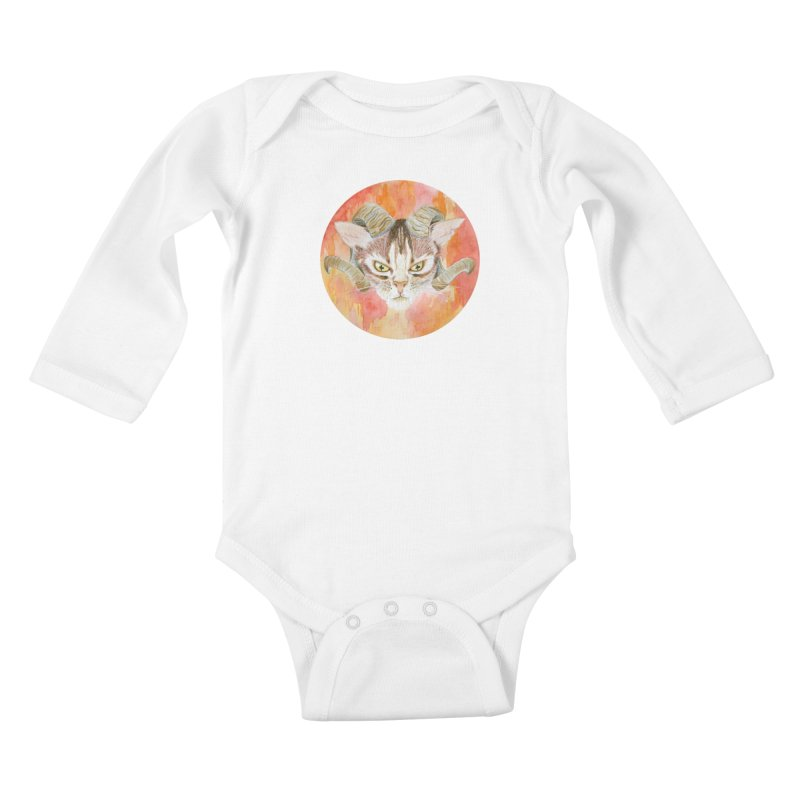Scaries Kids Baby Longsleeve Bodysuit by Bad Kerning by castinbronze
