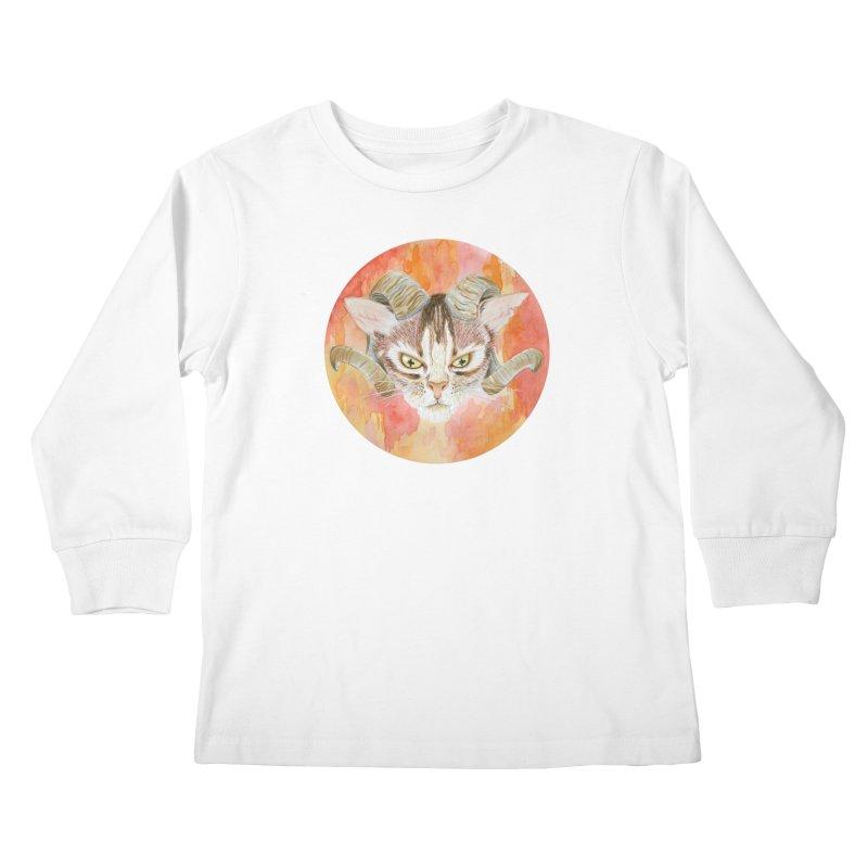 Scaries Kids Longsleeve T-Shirt by Bad Kerning by castinbronze