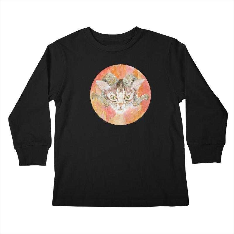 Scaries Kids Longsleeve T-Shirt by castinbronze design