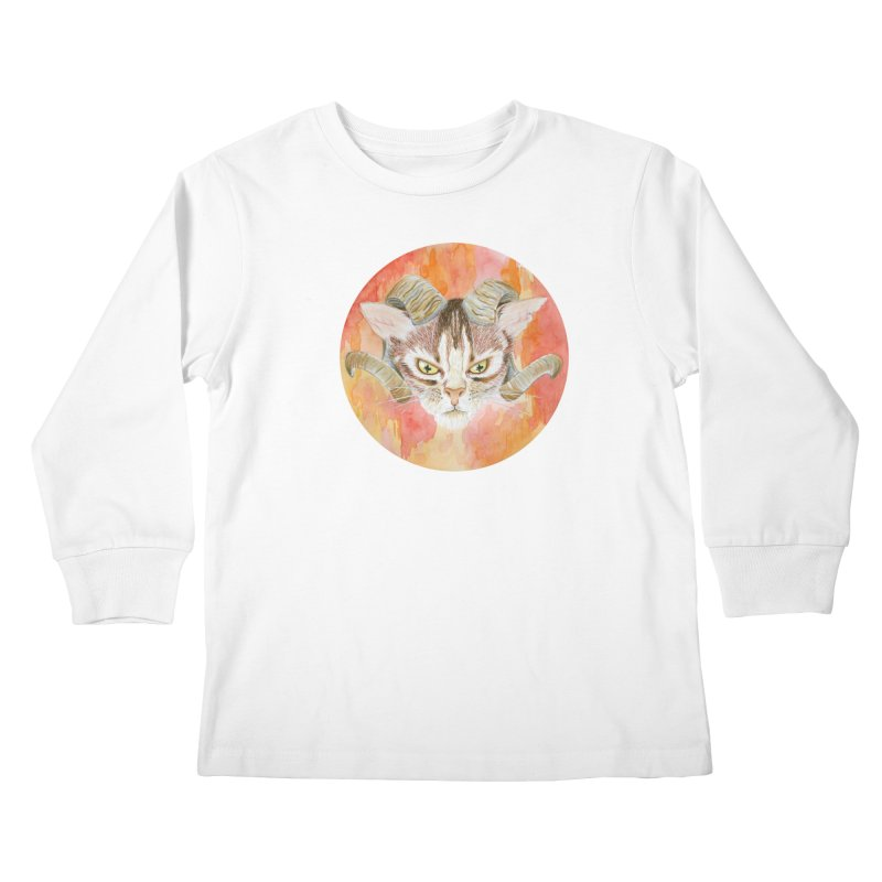 Scaries Kids Longsleeve T-Shirt by castinbronze design
