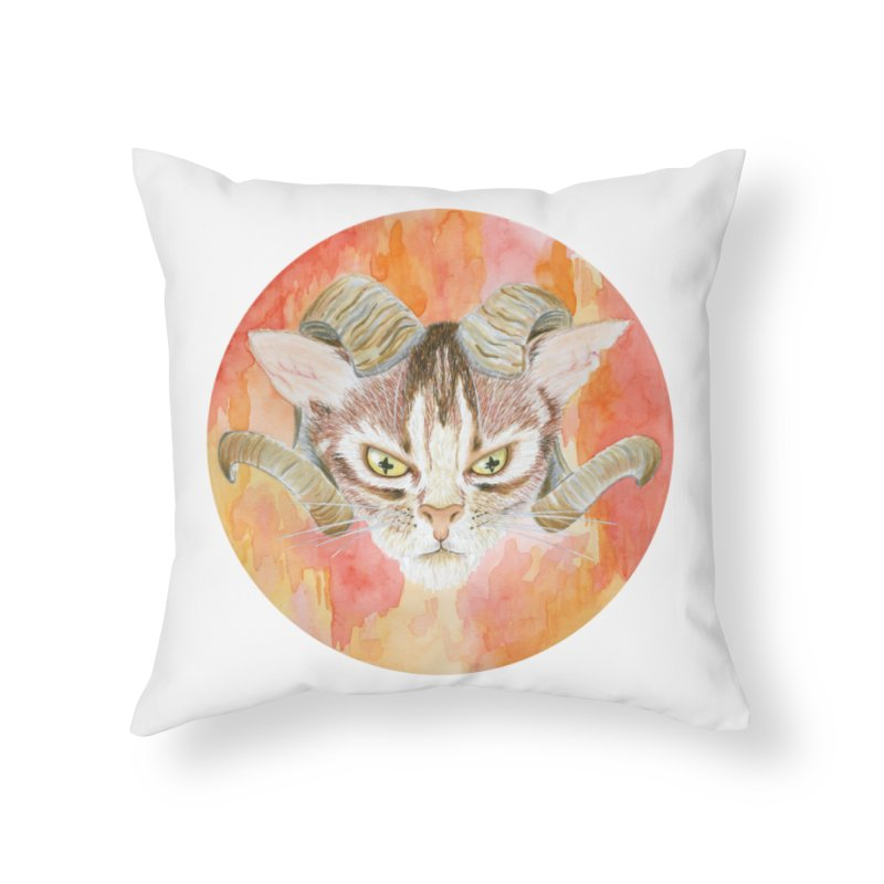 Scaries Home Throw Pillow by castinbronze design