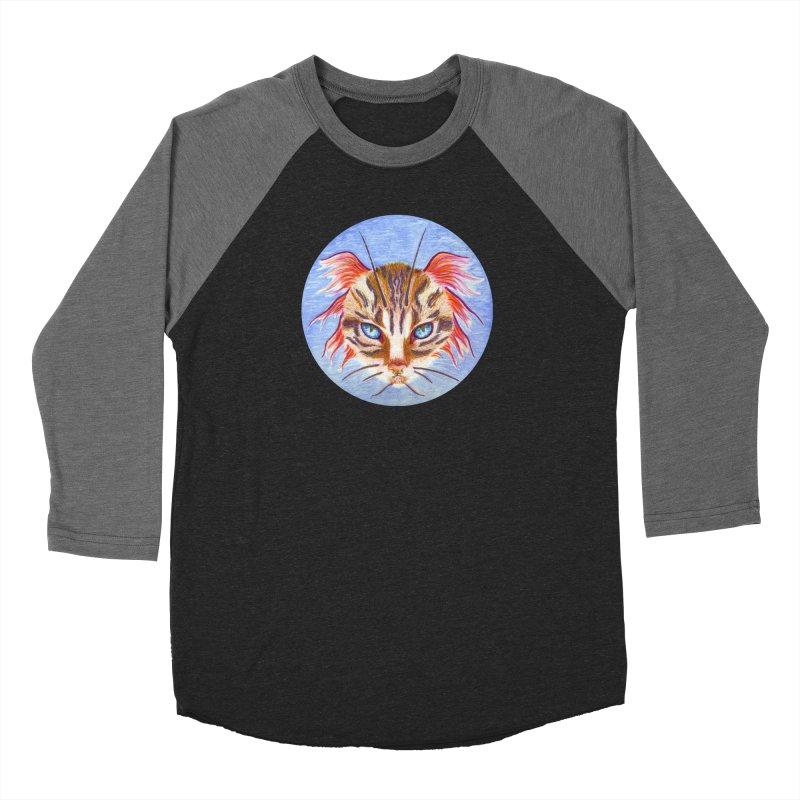 Pawsces Women's Baseball Triblend T-Shirt by Bad Kerning by castinbronze
