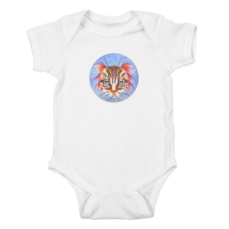 Pawsces Kids Baby Bodysuit by Bad Kerning by castinbronze