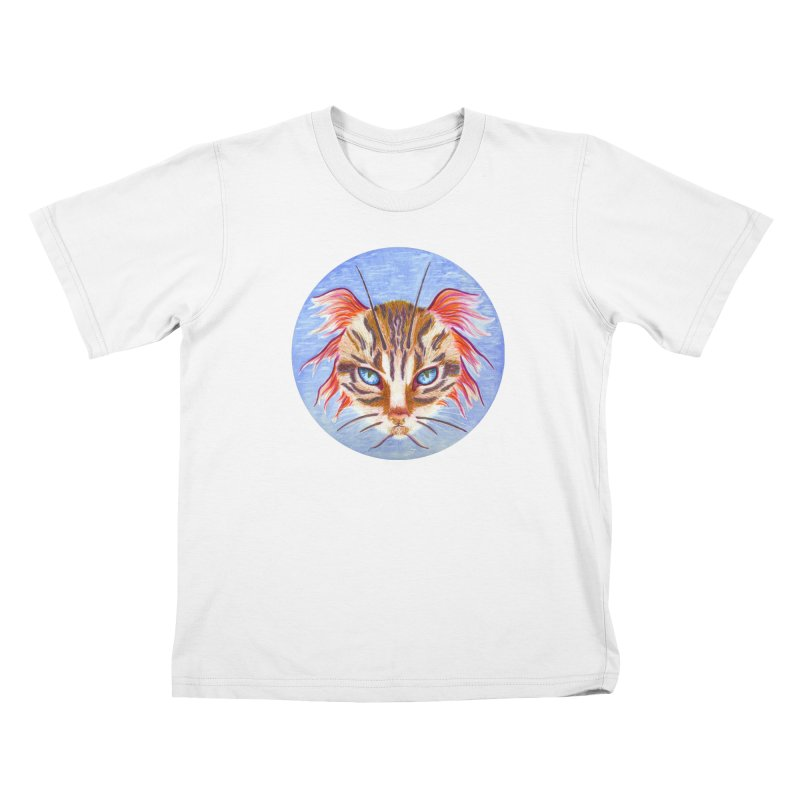 Pawsces Kids T-Shirt by Bad Kerning by castinbronze