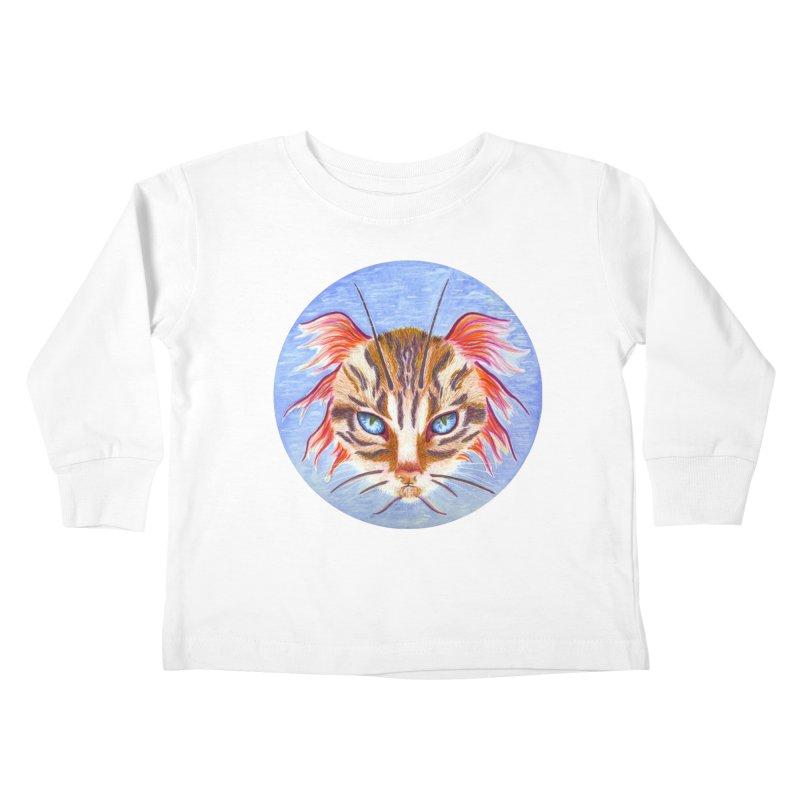 Pawsces Kids Toddler Longsleeve T-Shirt by Bad Kerning by castinbronze
