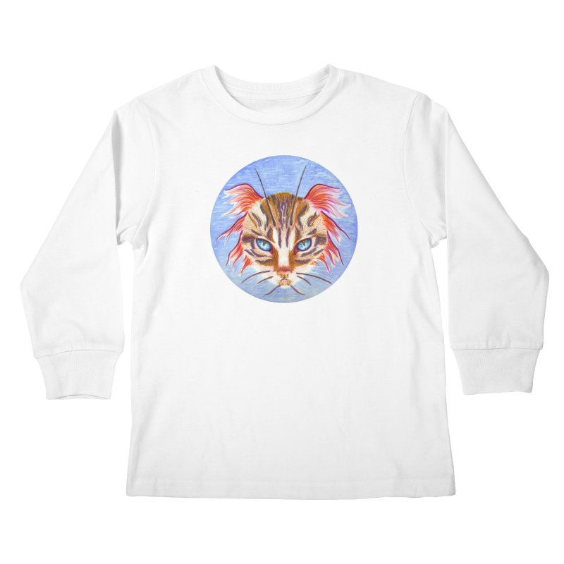 Pawsces Kids Longsleeve T-Shirt by Bad Kerning by castinbronze
