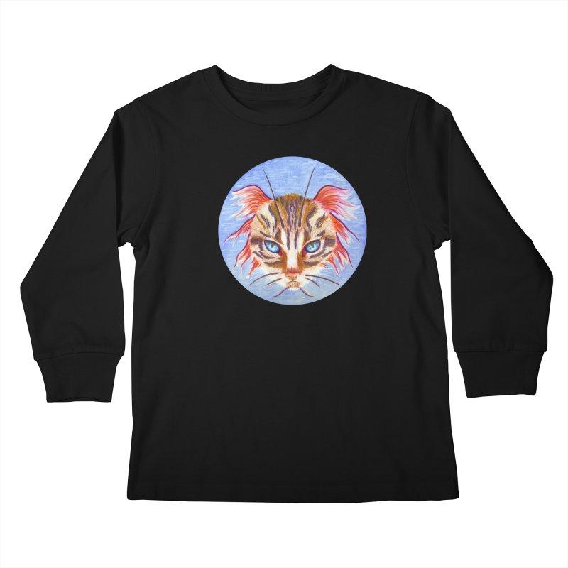 Pawsces Kids Longsleeve T-Shirt by castinbronze design