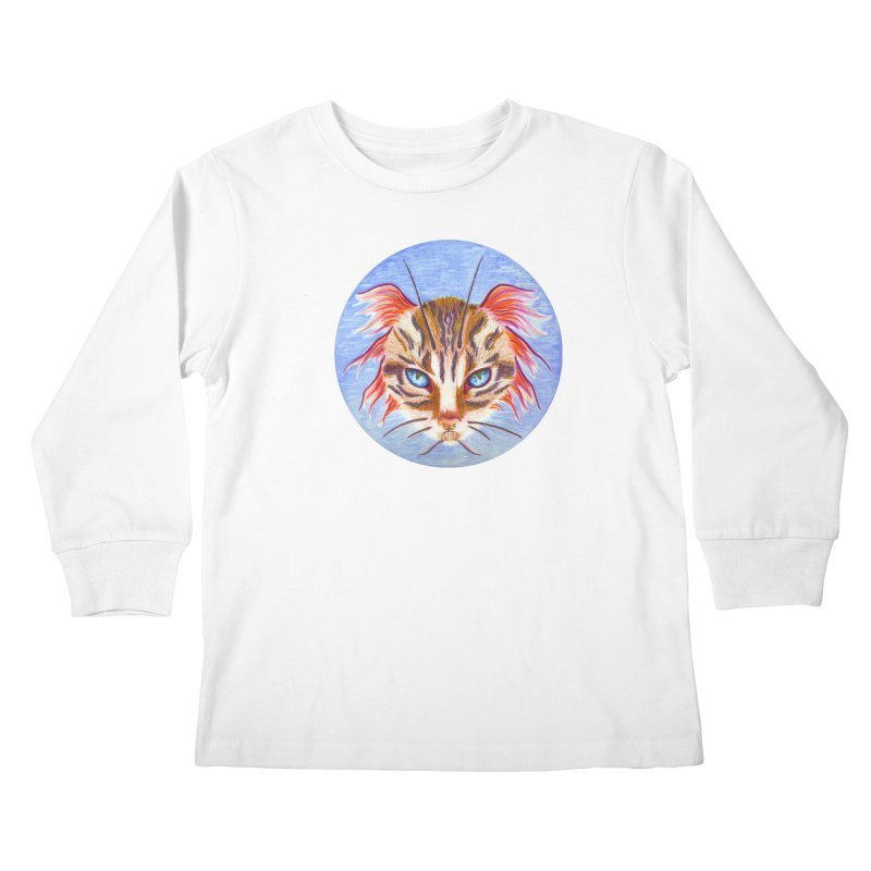 Pawsces Kids Longsleeve T-Shirt by castinbronze design