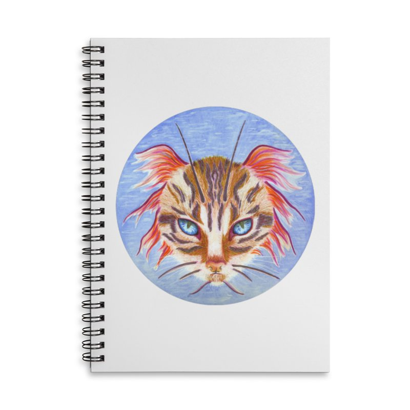 Pawsces Accessories Lined Spiral Notebook by Bad Kerning by castinbronze