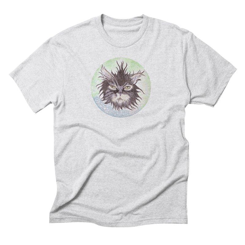Aquarihiss Men's T-Shirt by Bad Kerning by castinbronze