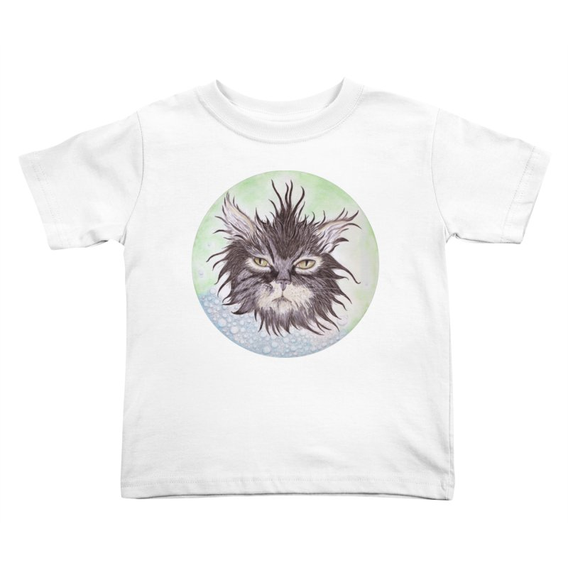 Aquarihiss Kids Toddler T-Shirt by Bad Kerning by castinbronze