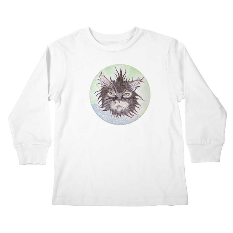 Aquarihiss Kids Longsleeve T-Shirt by castinbronze design