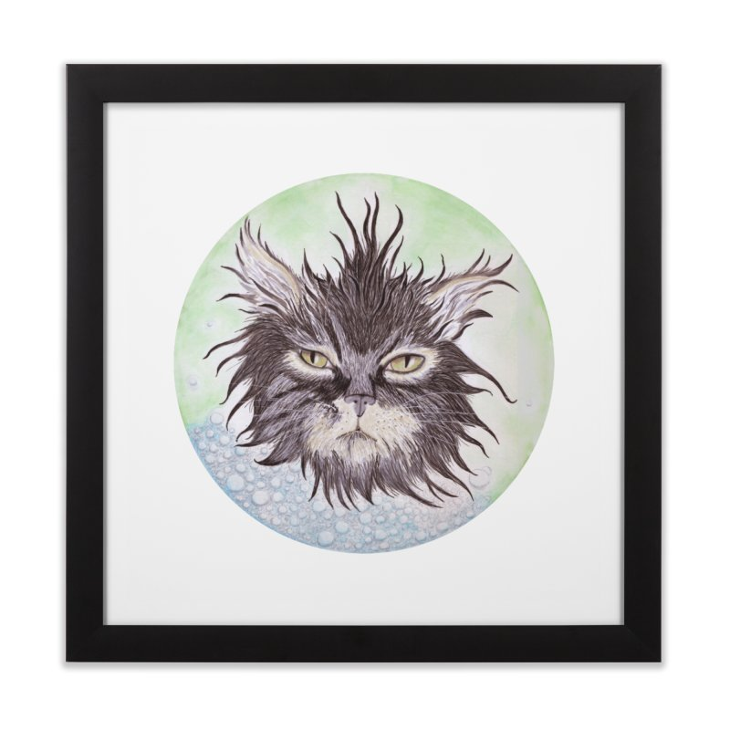 Aquarihiss Home Framed Fine Art Print by Bad Kerning by castinbronze