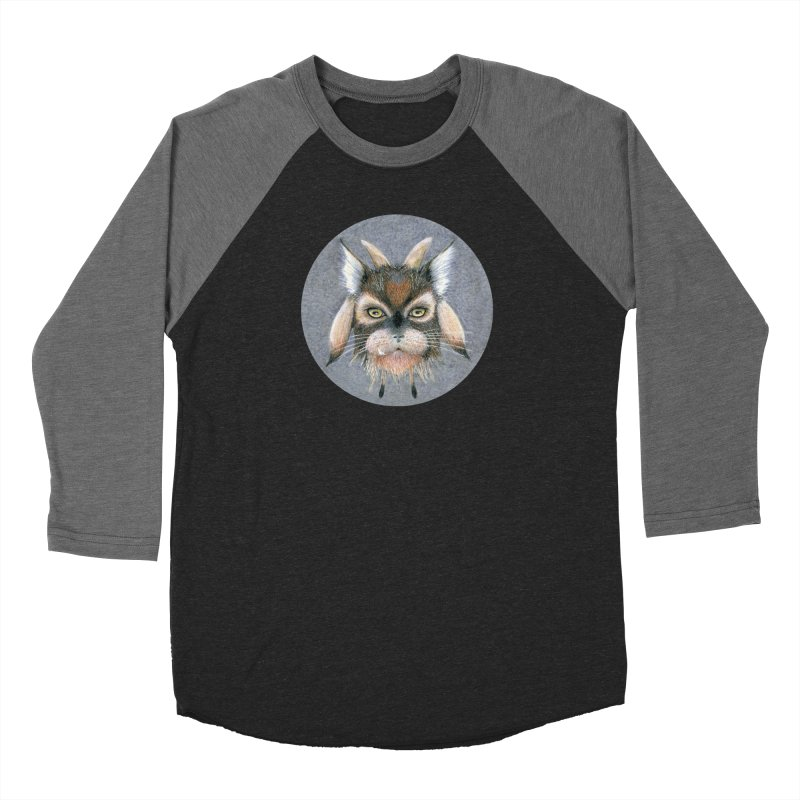 Catpricorn Women's Baseball Triblend Longsleeve T-Shirt by Bad Kerning by castinbronze