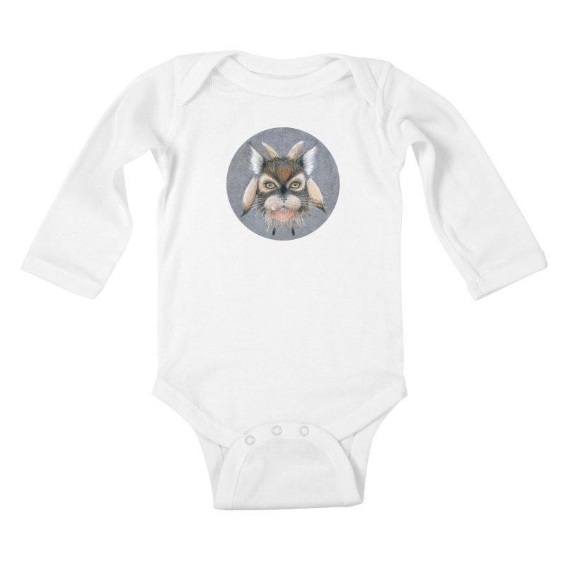Catpricorn Kids Baby Longsleeve Bodysuit by castinbronze design