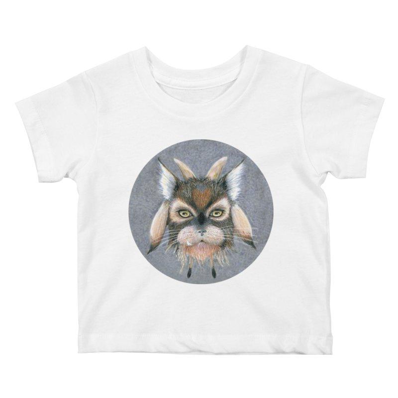 Catpricorn Kids Baby T-Shirt by castinbronze design