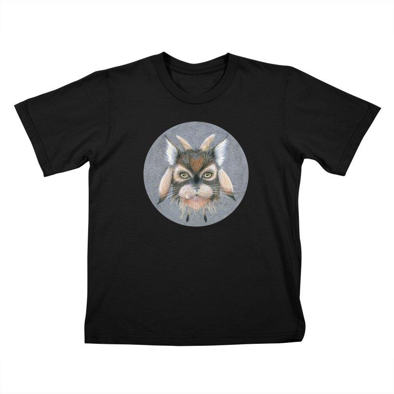 Catpricorn Kids T-Shirt by Bad Kerning by castinbronze
